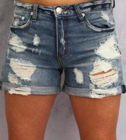 Blue Jean Baby Shorts 2