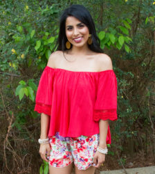 On A Sunset Stroll Blouse
