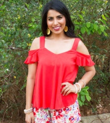 Red Hott Romance Blouse 1