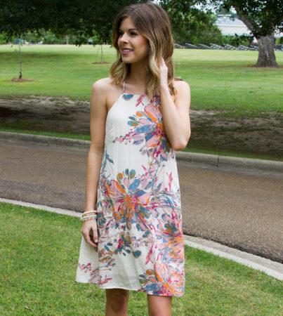 Artsy Floral Dress 2