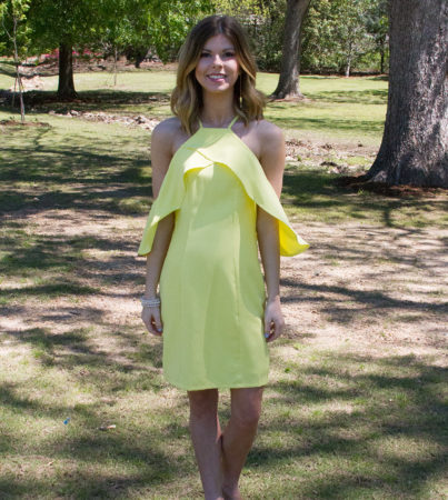 Laguna Beach Dress Yellow