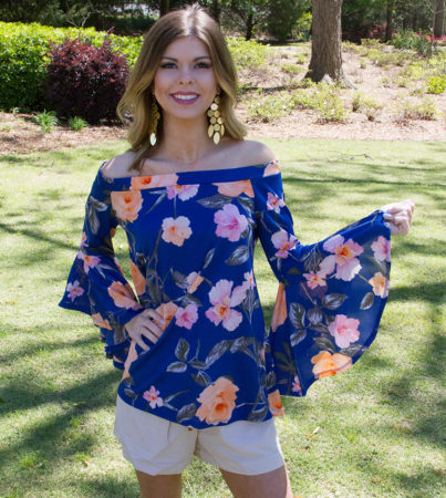 Maui Springs Blouse 2