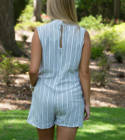 All Lined Up Romper 5