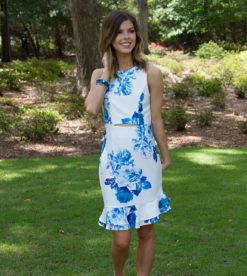 Blue Roses Dress 1