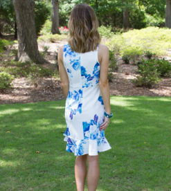 Blue Roses Dress 3