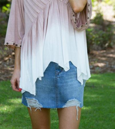 Denim Skirt 1