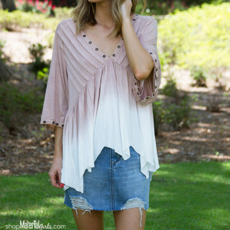 Double Dipped Blouse SBS