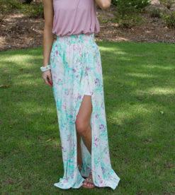 Getaway Ready Maxi Skirt 1