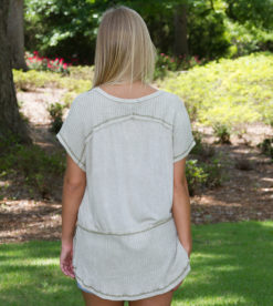 Inside Out Tee Light Olive 3