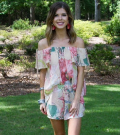 May Flowers Blush Top