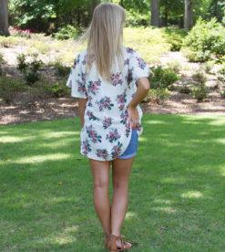 Summer Blooms Top Beige 2