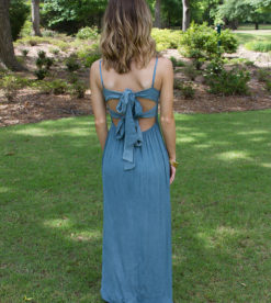Summer Love Maxi Teal Blue 6