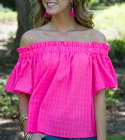 Bubblegum Pink Blouse 3