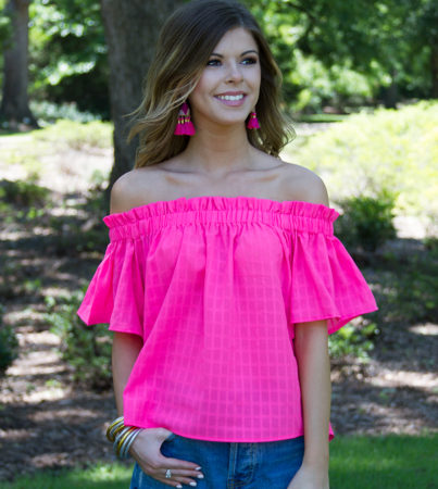 Bubblegum Pink Blouse 5