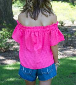 Bubblegum Pink Blouse 6
