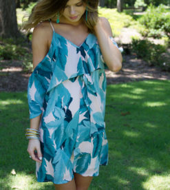 Perfect Palms Dress 5