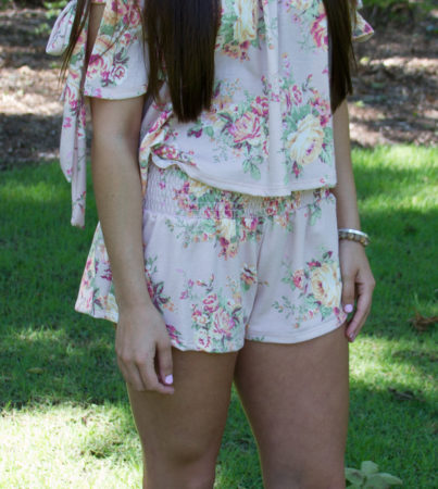 Sweet Escape Floral Shorts
