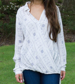 Coastal Action Blouse 1