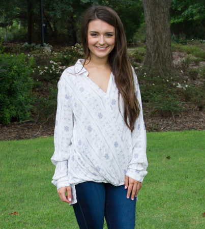 Coastal Action Blouse