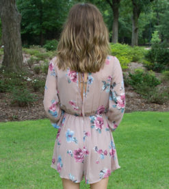Floral Perfection Romper 2