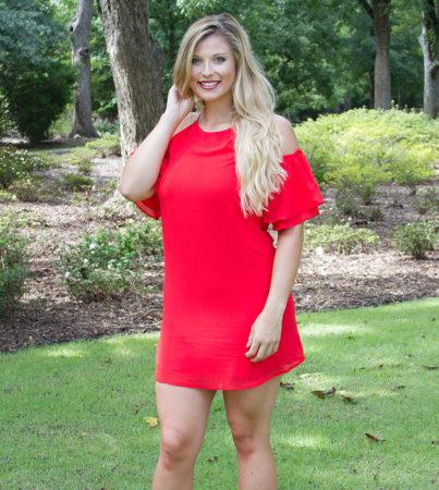 Rebel Red Dress 3