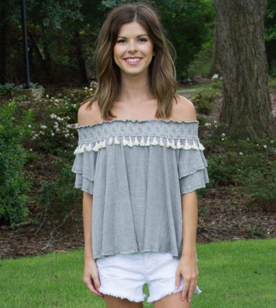 Tassel Time Top