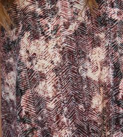 Burg Brush Stroke Dress 3