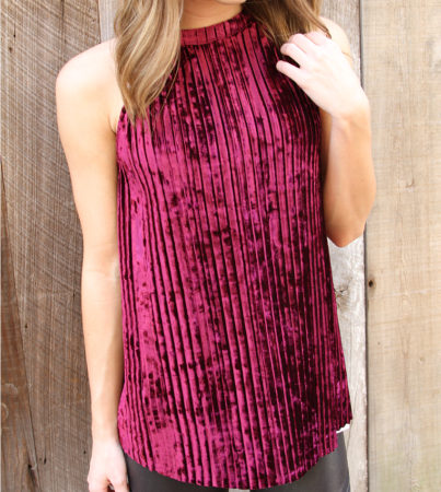 Crushin It Velvet Tank 2