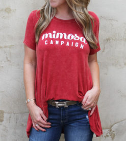 Mimosa Campaign Tee