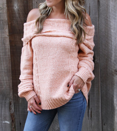 Peachy Perfect Sweater 5