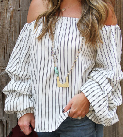 Ruffles and Stripes Ivory 3