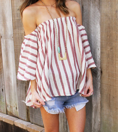 Stripe Out Blouse 2
