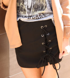 Tied Together Mini Skirt