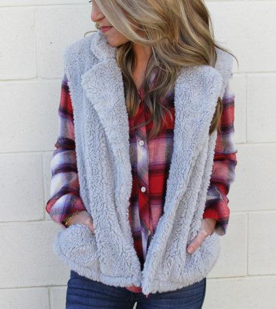 Aspen Vest Grey 2