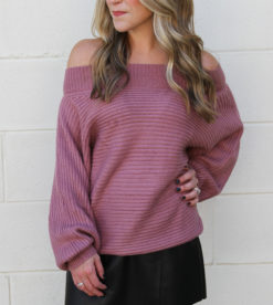 Tister Sweater Mauve 3