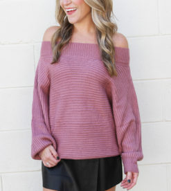 Twister Sweater Mauve 4