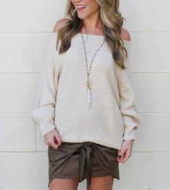 Twister Sweater Oatmeal