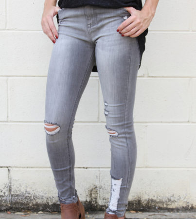 Gela Grey Denim