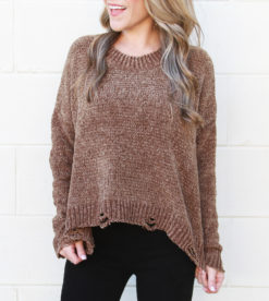Cut To The Chase Sweater