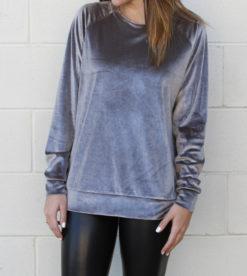 Everyday Velvet Grey