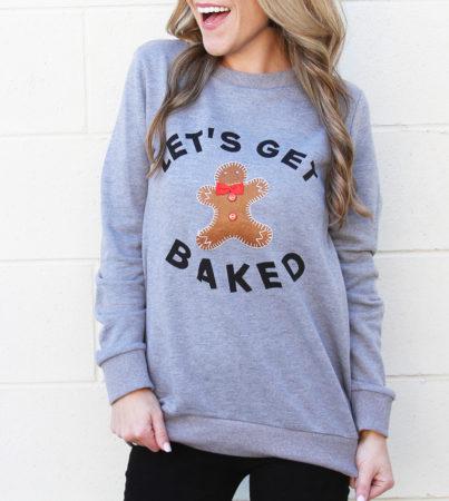 Lets Get Baked Grey