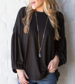 Black Out Top