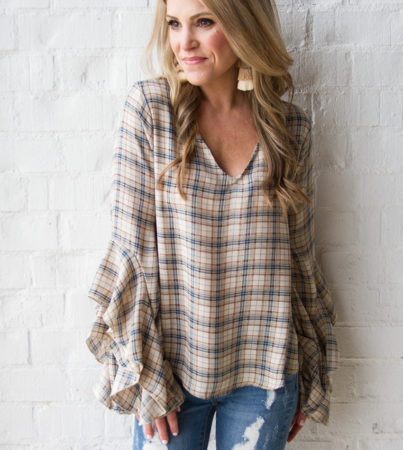Plaid Meets Ruffle 5