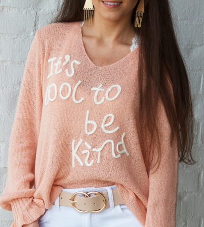 It's Cool To Be Kind Sweater2