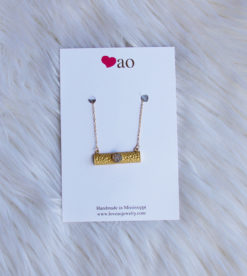LoveAO Bar Necklace