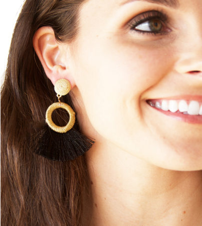 Nyla Earring Black