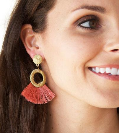 Nyla Earring Coral