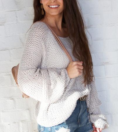 Penelope Sweater - Silver