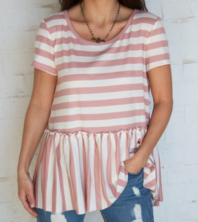 Sophie Striped Tee2