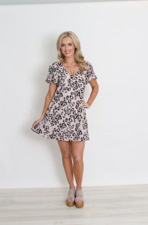 Cheetah Shift Dress